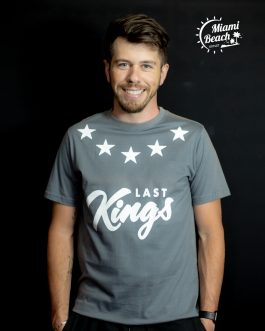 Camiseta kings Cinza Tam: M